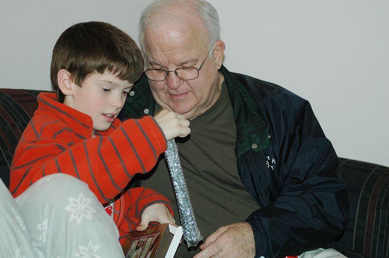 Parker and grandpa