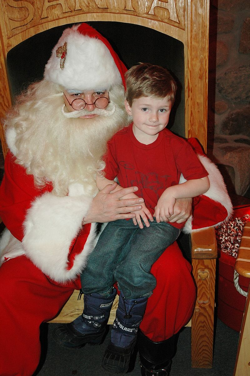 Santa and harry