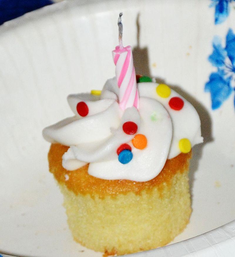 Rocky cupcake