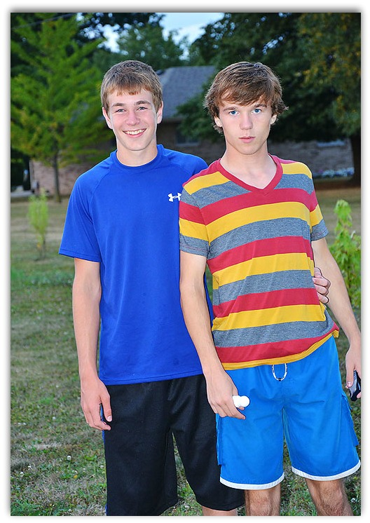 Max and Collin frame