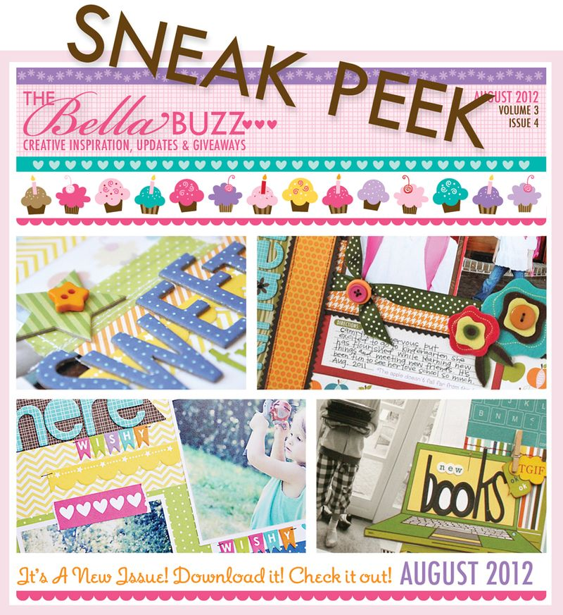 SNEAK PEEK AUGUST BELLA BUZZ